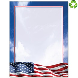American Patriotism Border Papers
