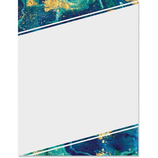 use this fancy blue stone border paper to announce upcoming formal events like recognition banquets galas grand openings and more paper direct blue stone border papers