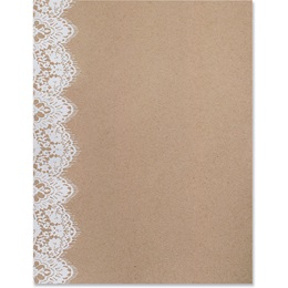 Lovely Lace Specialty Border Papers