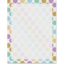 Dot Luck Border Papers