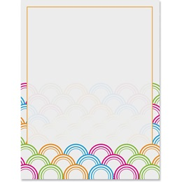 Right Bright Border Papers