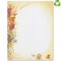 Autumn Bouquet Border Papers