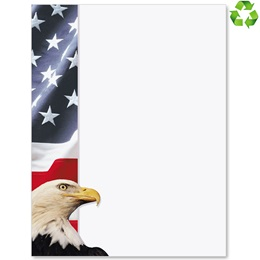 American Symbols Border Papers