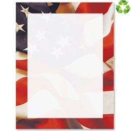 Patriotic Border Border Papers