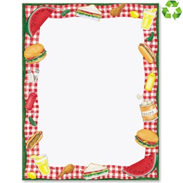 Picnic Time Border Papers