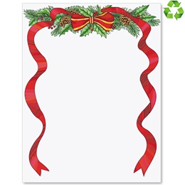 Red Ribbon II Border Papers