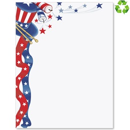 Fourth of July Border Papers