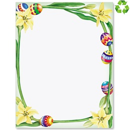 Easter Border Border Papers