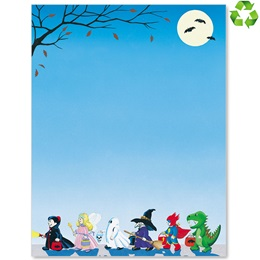 Halloween Parade Border Papers