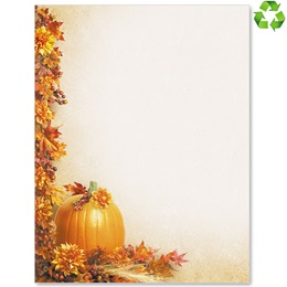 Autumn Garland Border Papers