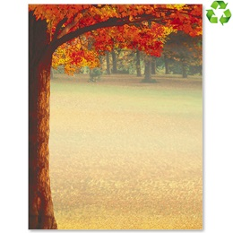 Maple Glory Border Papers