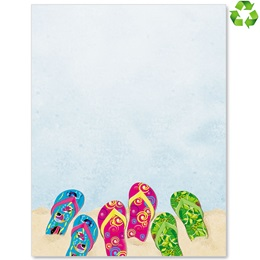 Baja Flip Flop Border Papers