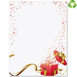 Holiday Wishes Border Papers