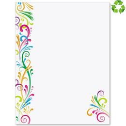 Party Spirit Border Papers