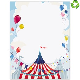 Big Top Border Papers
