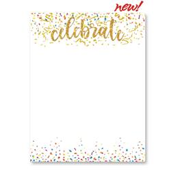 Celebrate Gold Specialty Border Papers