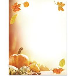 Autumn Style Specialty Border Papers
