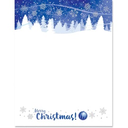 Christmas Breeze Specialty Border Papers