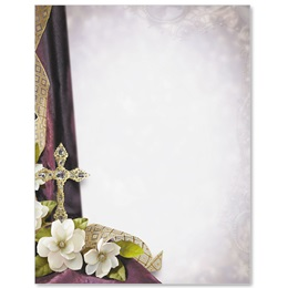 Crystal Cross Specialty Border Papers