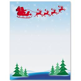 Saint Nick Specialty Border Papers