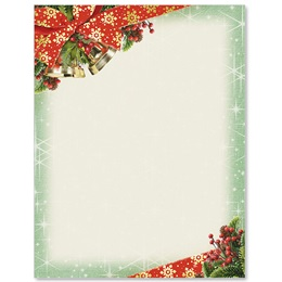 Bow and Bell Specialty Border Papers