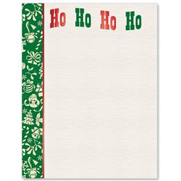 Holiday Laugh Specialty Border Papers