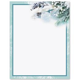 Frosted Glow Specialty Border Papers