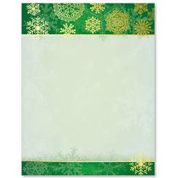 Snow Blanket Specialty Border Papers