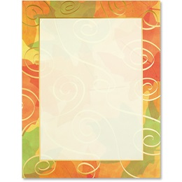 Appalachian Fall Specialty Border Papers