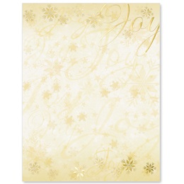 Joyful Wishes Specialty Border Papers