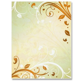 Enchanted Garden Specialty Border Papers