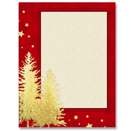 Shimmering Trees Specialty Border Papers