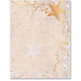 Copper Shimmer Specialty Border Papers