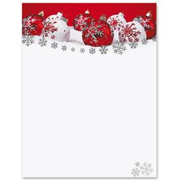 Snowflake Wishes Specialty Border Papers