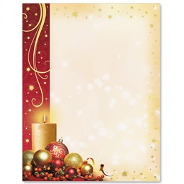 Enchanted Christmas Specialty Border Papers