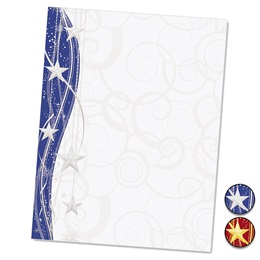 Sparkling Stars Specialty Border Papers