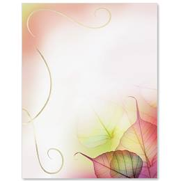 Fall Glisten Specialty Border Papers