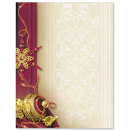 Glittering Garnets Specialty Border Papers