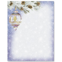 Snowy Splendor Specialty Border Papers