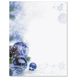 Sapphire Christmas Specialty Border Papers