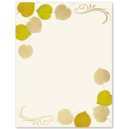Aspens Turning Specialty Border Papers