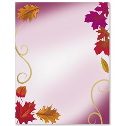 Fall Elegance Specialty Border Papers