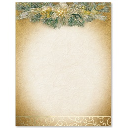 Golden Swag Specialty Border Papers