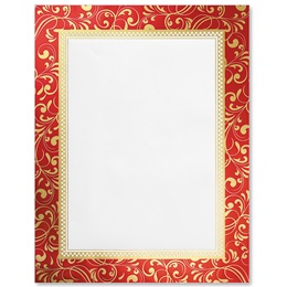 Elaborate Christmas Specialty Border Papers
