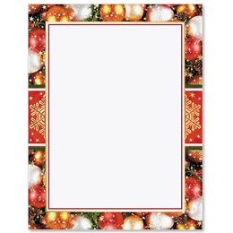 Glistening Ornaments Specialty Border Papers