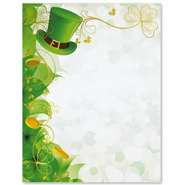 St. Pat Hat Specialty Border Papers