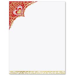 Valentine Delight Specialty Border Papers