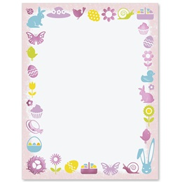 Easter Icons Specialty Border Papers