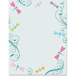 Dragonfly Design Specialty Border Papers