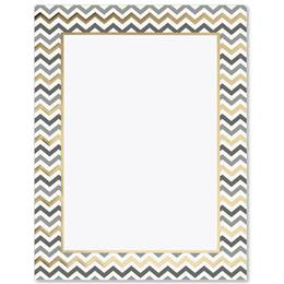 Festive Chevron Specialty Border Papers